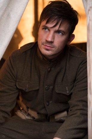 "TIMELESS -- ""The War to End All Wars"" Episode 201 -- Pictured: Matt Lanter as Wyatt Logan -- (Photo by: Justin Lubin/NBC)"