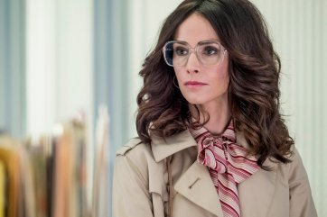 "TIMELESS -- ""The Day Reagan Was Shot"" Episode 208 -- Pictured: Abigail Spencer as Lucy Preston -- (Photo by: Ron Batzdorff/NBC)"